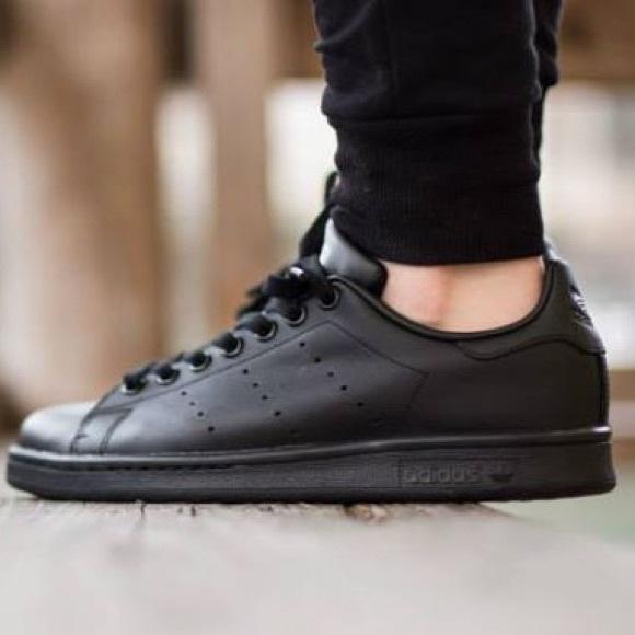 b5e1ba69c61 adidas Shoes - Black adidas Stan smith sneakers
